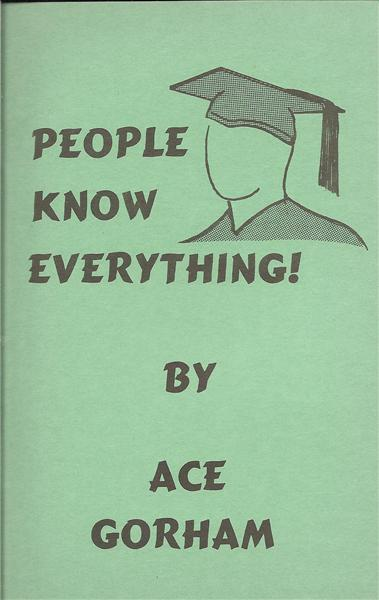 People Know Everything by Ace Gorham - Book