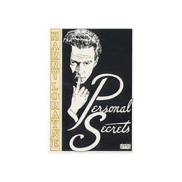 Personal Secrets by Harry Lorayne - Book