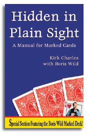 Hidden in Plain Sight: A Manual For Marked Cards  - Book