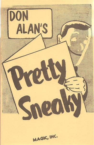 Pretty Sneaky by Don Alan - Book