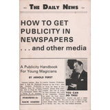 How to Get Publicity in Newspapers by Arnold Furst - Book