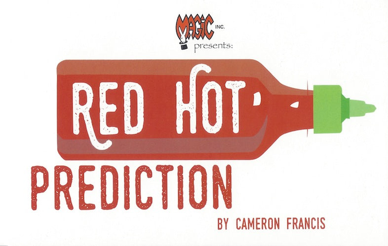 Red Hot Prediction by Cameron Francis - Trick