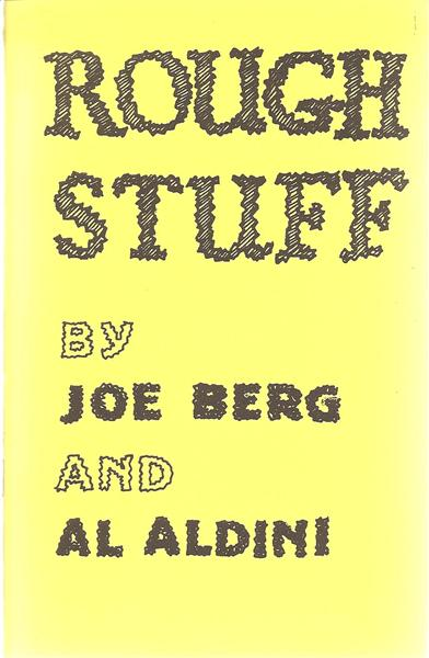 Rough Stuff by Joe Berg and Al Aldini - Book
