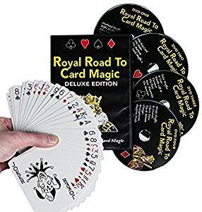 Royal Road to Card Magic (4 DVD 's) - DVD