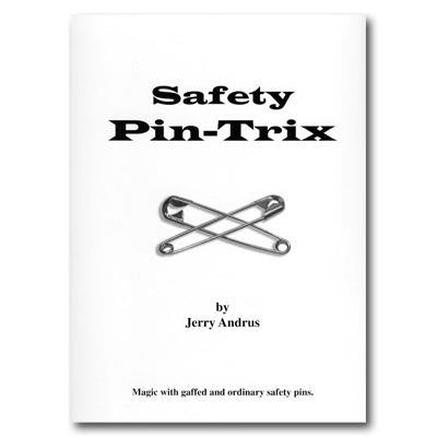 Safety Pin-Trix by Jerry Andrus - Book