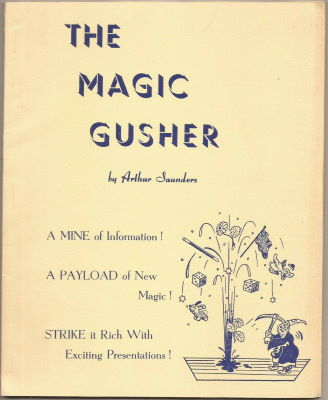 The Magic Gusher by Arthur Saunders - Book