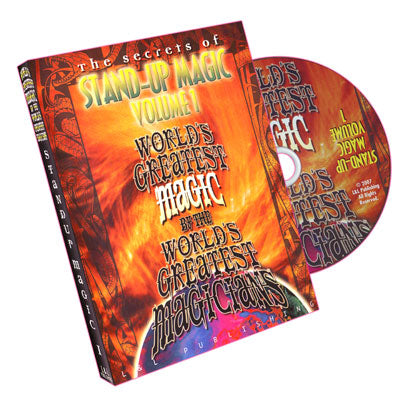 World's Greatest Magic - Stand Up Magic - Vol. 1 - DVD
