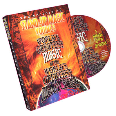 World's Greatest Magic - Stand Up Magic - Vol. 3 - DVD