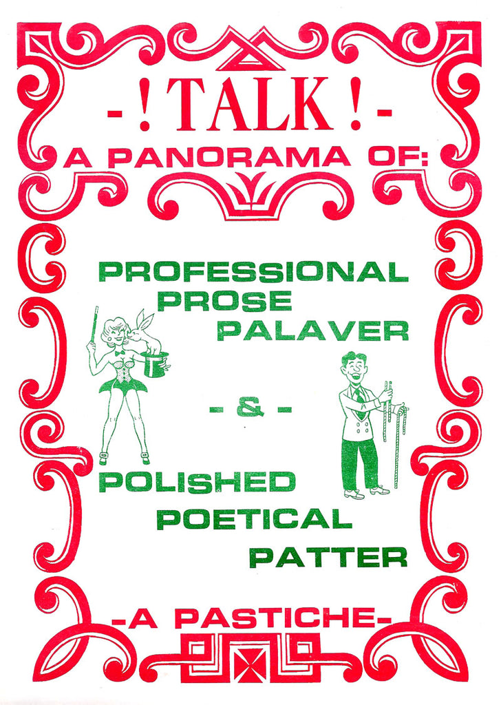 Talk! A Panorama of Professional Prose Palaver & Polished Poetical Patter by Percy Abbott - Book