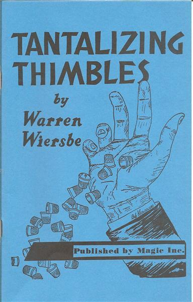 Tantalizing Thimbles by Warren Wiersbe - Book