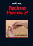 Techno Pièces volume 2 by Daniel Rhod - Book