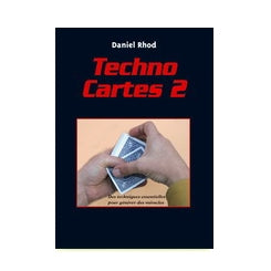 Techno Cartes 2 by Daniel Rhod - Book