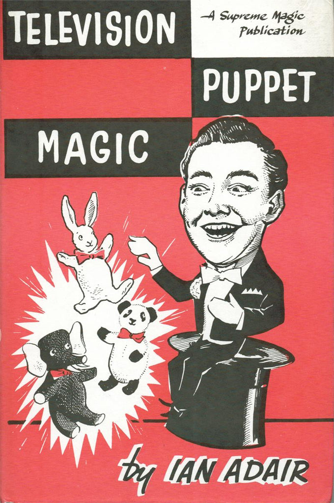 Television Puppet Magic by Ian Adair - Book