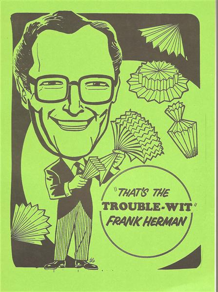 That's the Troublewit by Frank Herman - Book