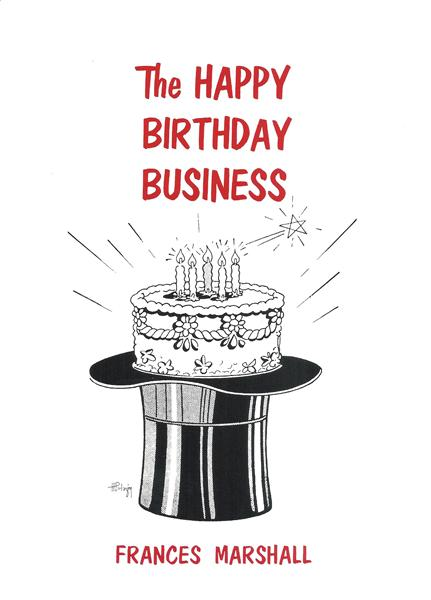 Happy Birthday Business by Frances Marshall - Book