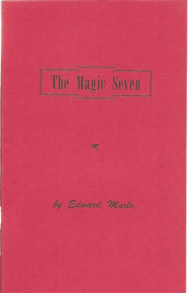 The Magic Seven by Ed Marlo - Book