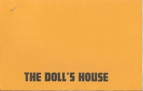 The Doll House by Gene Gloye - Book