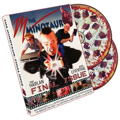 Minotaur The Final Issue (2 DVD Set) by Dan Harlan - DVD