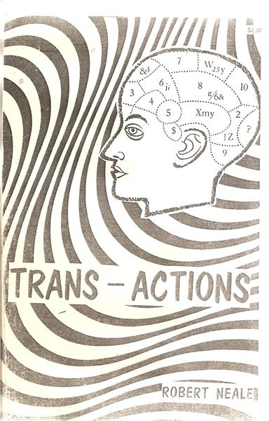 Trans-Actions by Robert Neale - Book