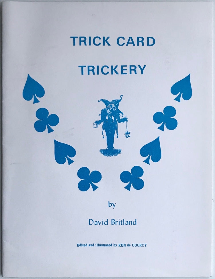 Trick Card Trickery by David Britland - Book