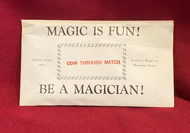 Coin Through Match by Southern Magic Co. - Trick