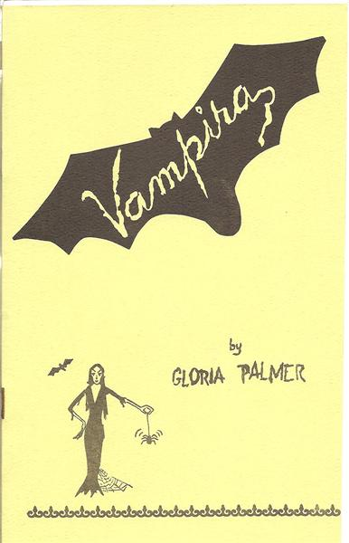 Vampira by Gloria Palmer - Book