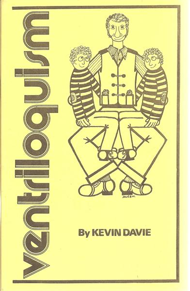 Ventriloquism by Ken Davie - Book