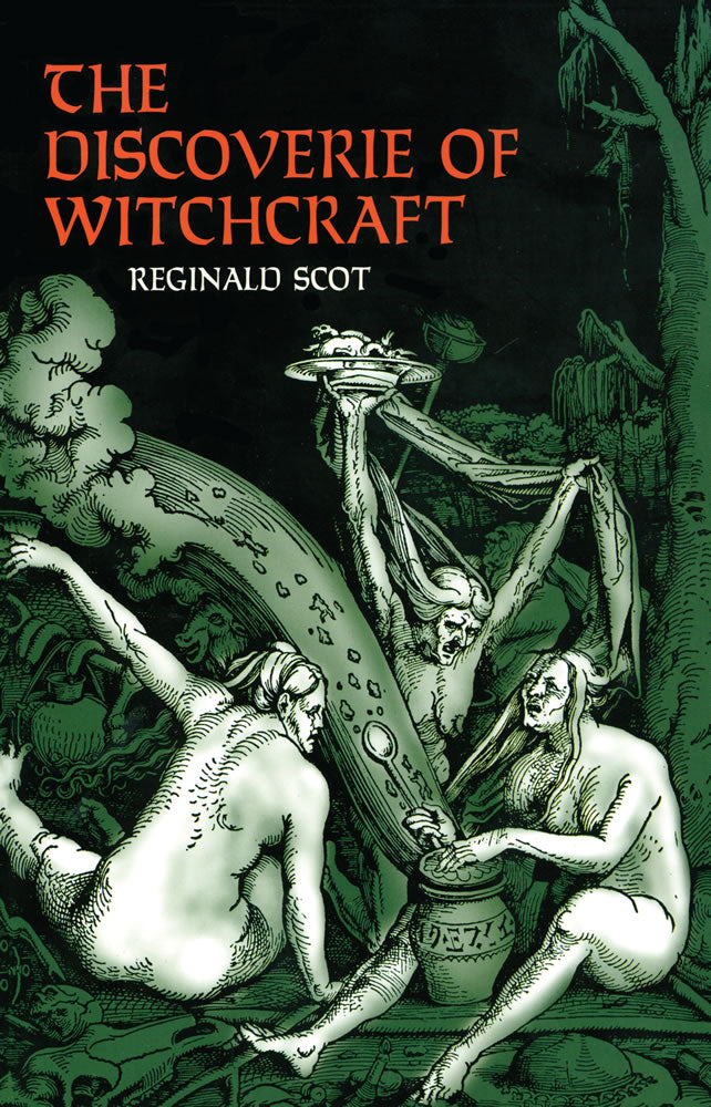 Discoverie Of Witchcraft by Dover - Book