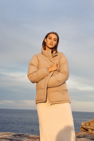 The Topher Longline Puffer Jacket