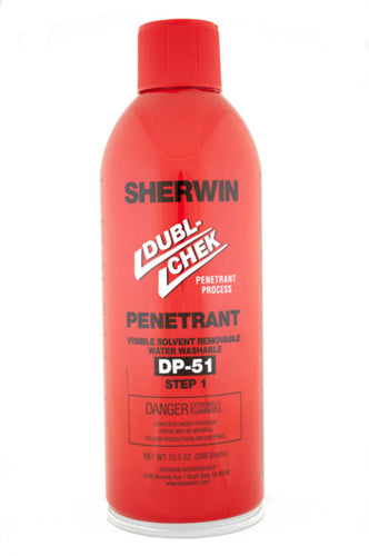 Sherwin, DP 51 <br>Visible Penetrant