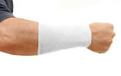 "Original Tatjacket Jr. Lower Arm Tattoo Cover Up Sleeves 8"" - WHITE (2-PACK)"