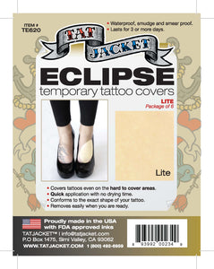 Tatjacket Eclipse Tattoo Covers (6-Pack) - LITE