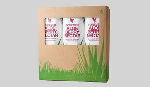 Tetrapak Cranberry Drink Aloe Vera Gel x3