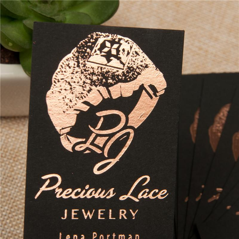 Metallic Foil Business Cards
