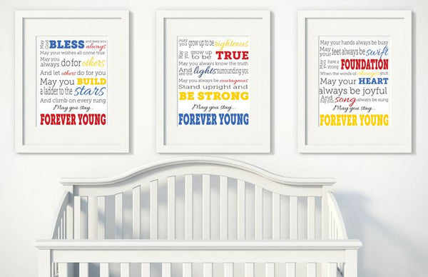 Forever Young Prints