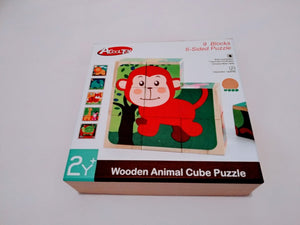 Animal Cube Puzzles
