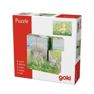 Baby Animal Cube Puzzle