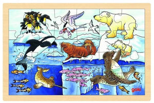 Arctic Animals Framed Puzzle