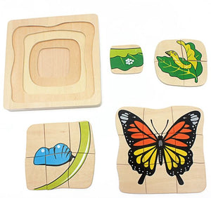 Lifecycle Puzzles - Set of 3