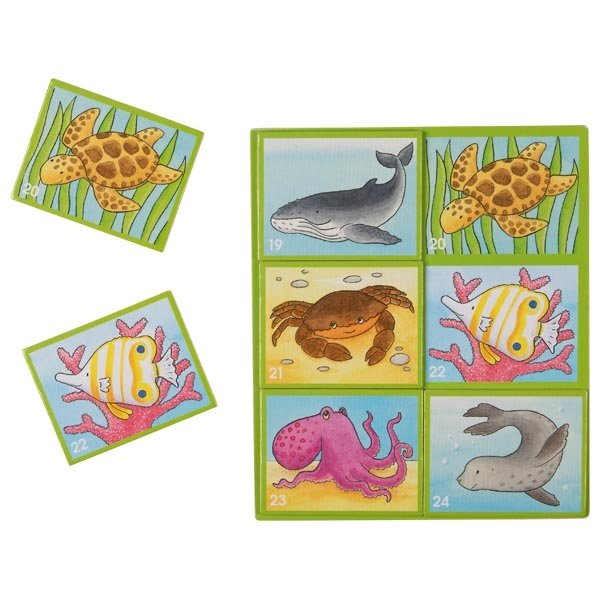 Wooden Animal Lotto Game