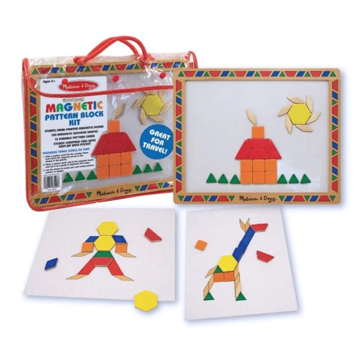 Magnetic Patterns Block Kit