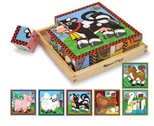 Load image into Gallery viewer, Meliss&Doug- Farm Animal Cube Puzzle - Malta
