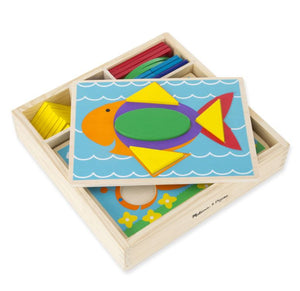 Melissa & Doug First Shapes Puzzle Malta