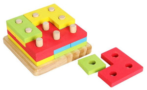 Montessori Shape  Stacking Set 4 in 1 Malta