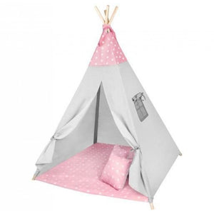 A children's tent is great for creative fun at home and outside. It stimulates the imagination and allows children to spend time alone or in a larger group, without age restrictions