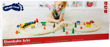 Load image into Gallery viewer, Wooden Railway Set