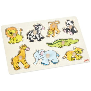 Wild Animals Lift-Out Puzzle