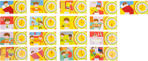 Telling Time Wooden Puzzle