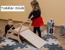 Load image into Gallery viewer, Wooden Toddler Slide Malta