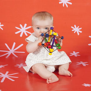 Wooden Skwish Rattle & Teether